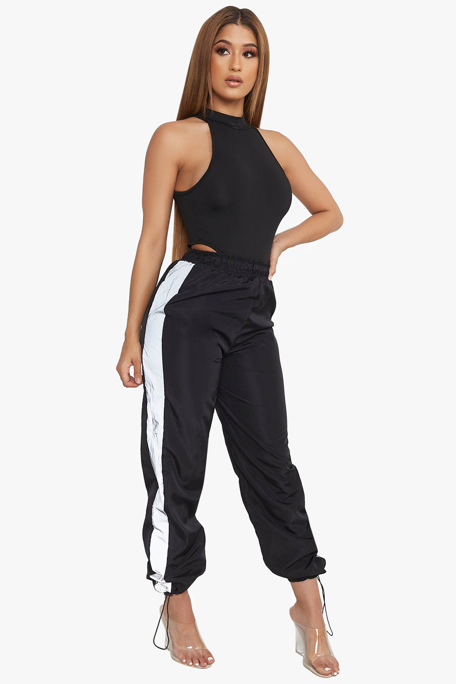 Caution Reflective Windbreaker Pants