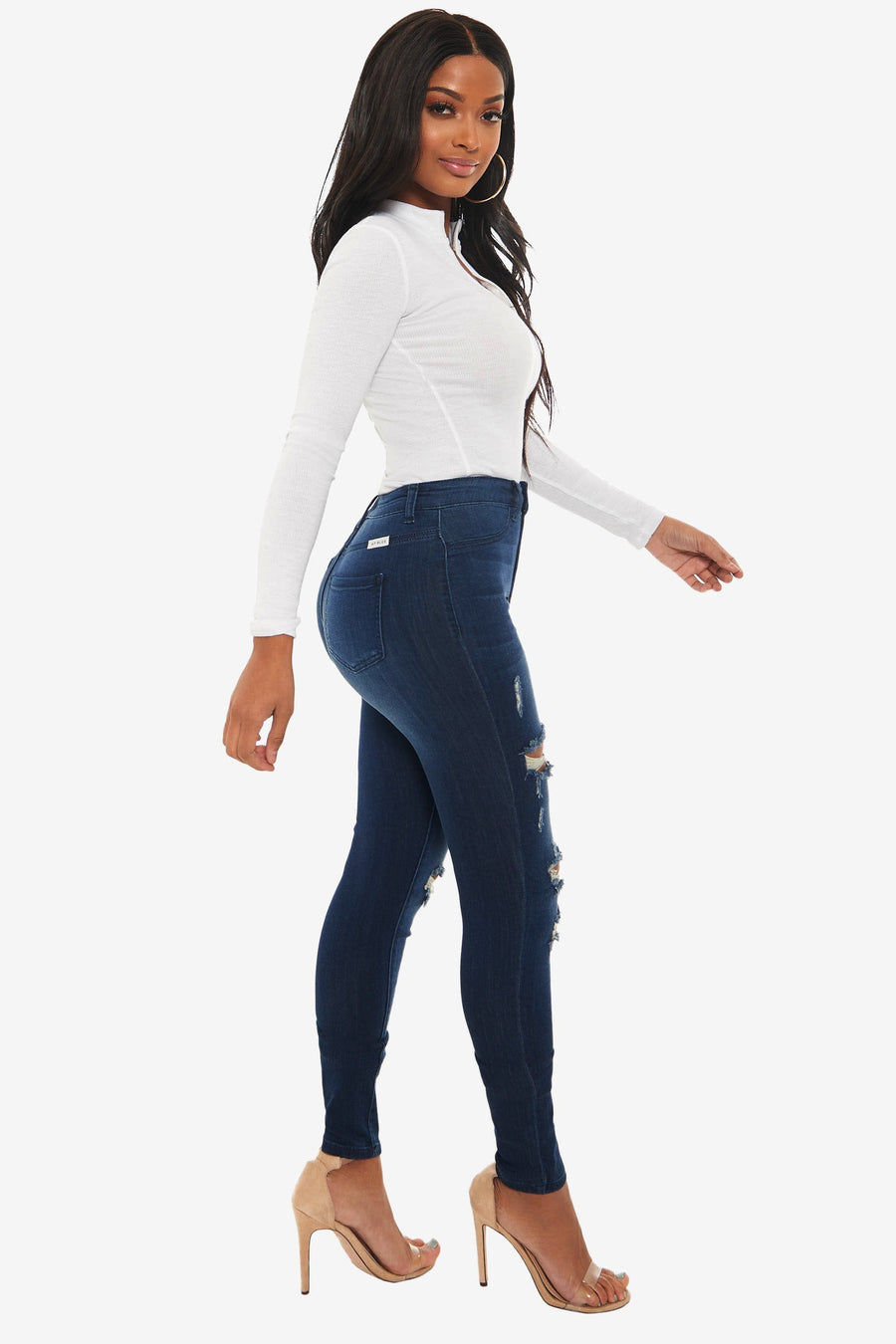Rally Distressed Jeans