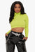 Green With Envy Cropped Sweater