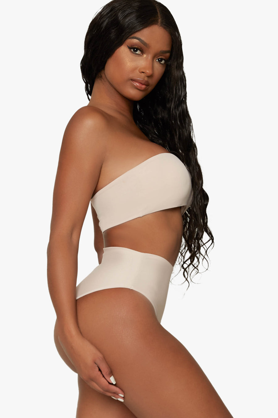 No Strings Attached High Waisted Bikini