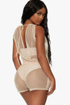 Shake Something Mesh Romper