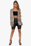 One Way Python Blazer