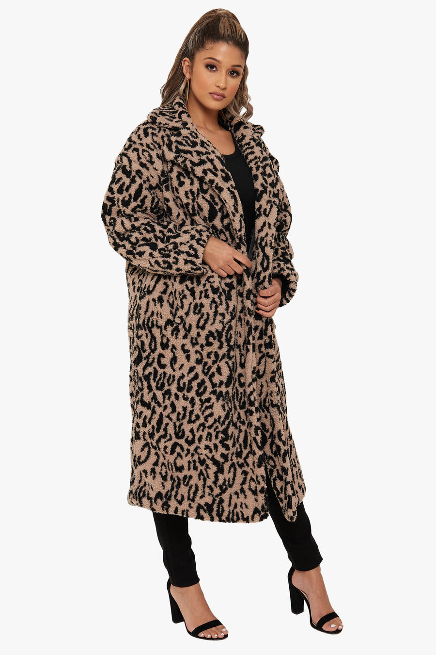 So Fierce Leopard Coat