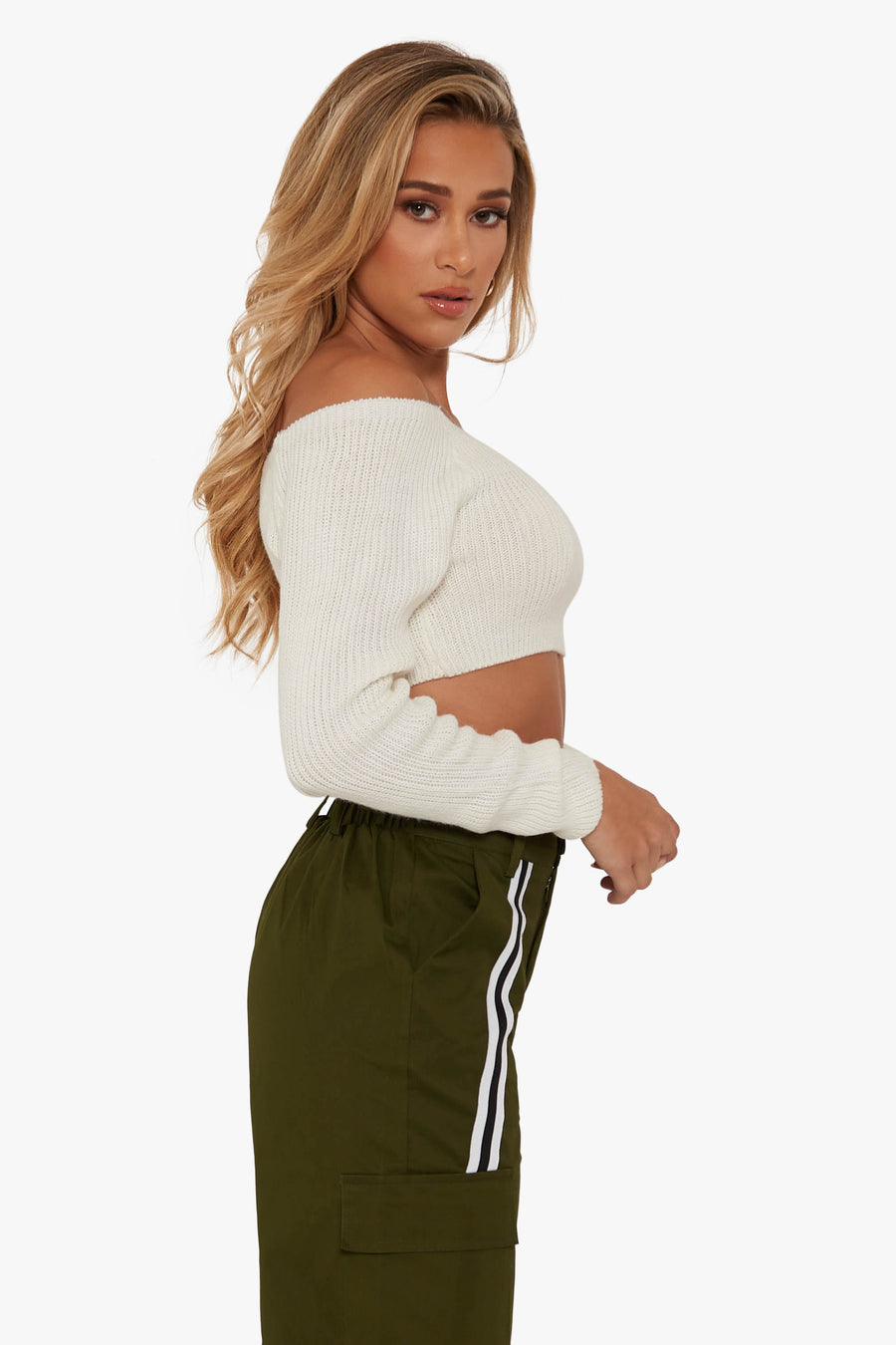 Cut To The Chase Knit Top