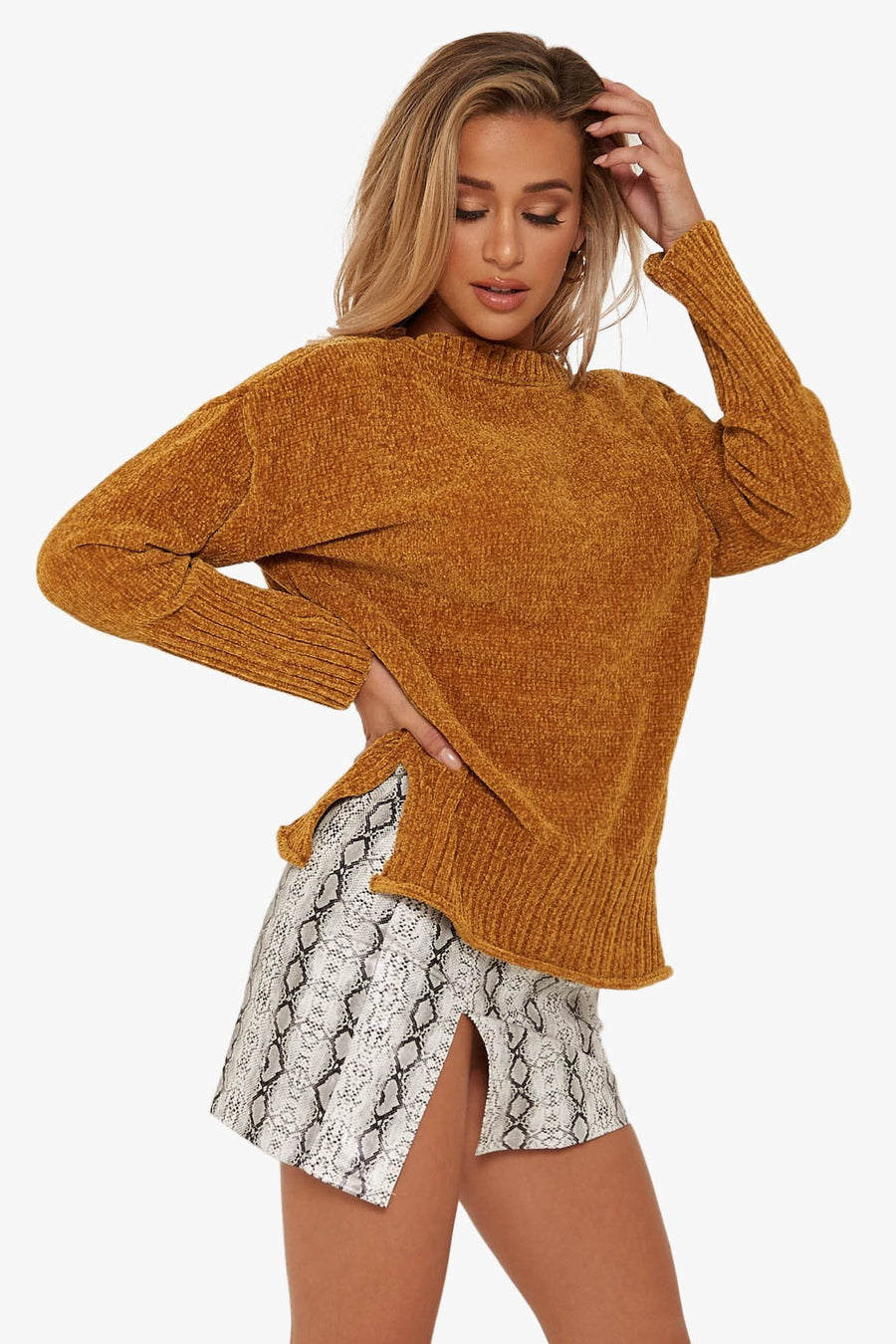 By The Fire Sweater