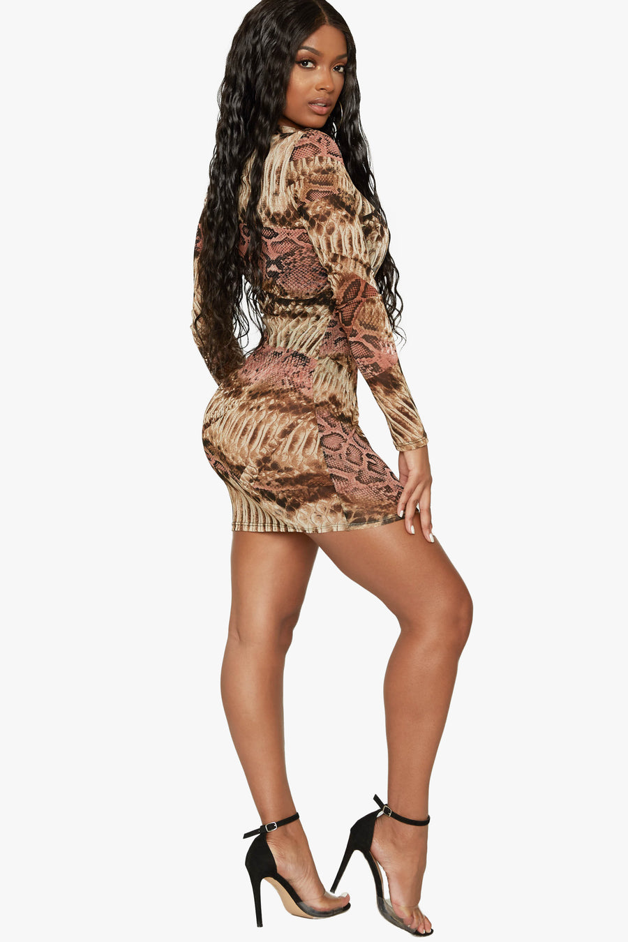 Money Maker Mesh Dress