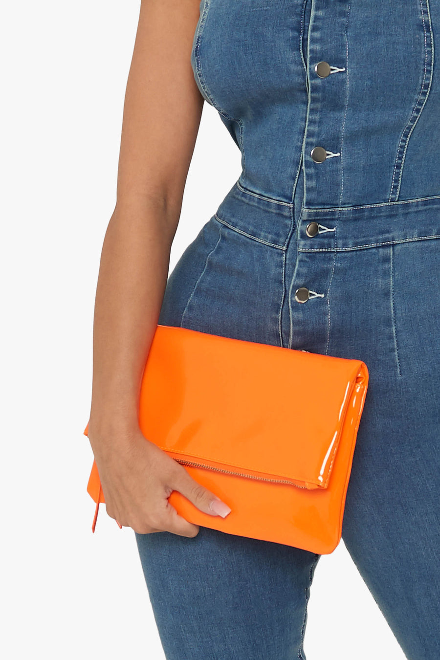 Bright Thoughts Patent Clutch