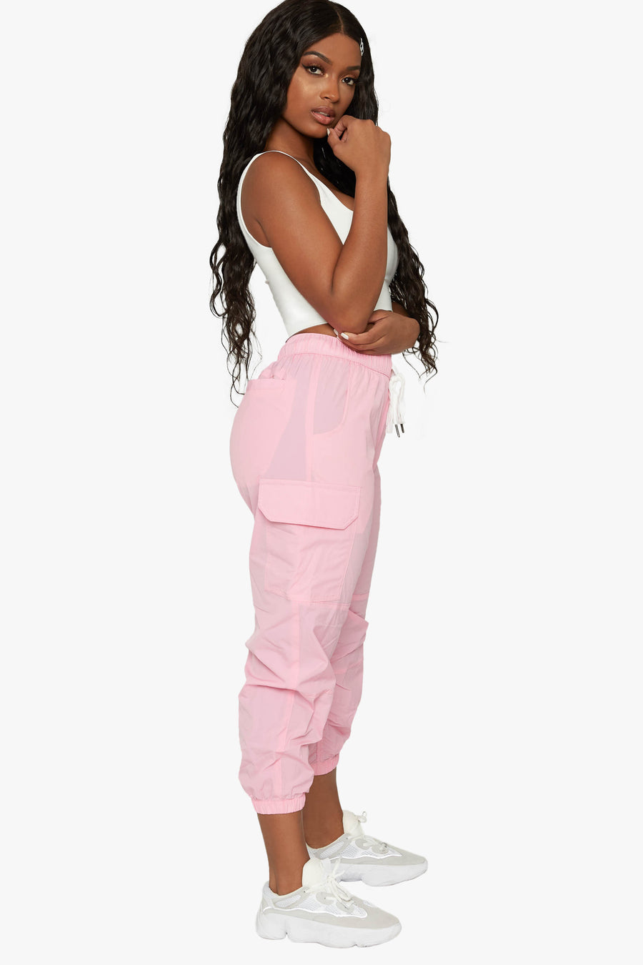 Fefe Ruched Jogger Pant