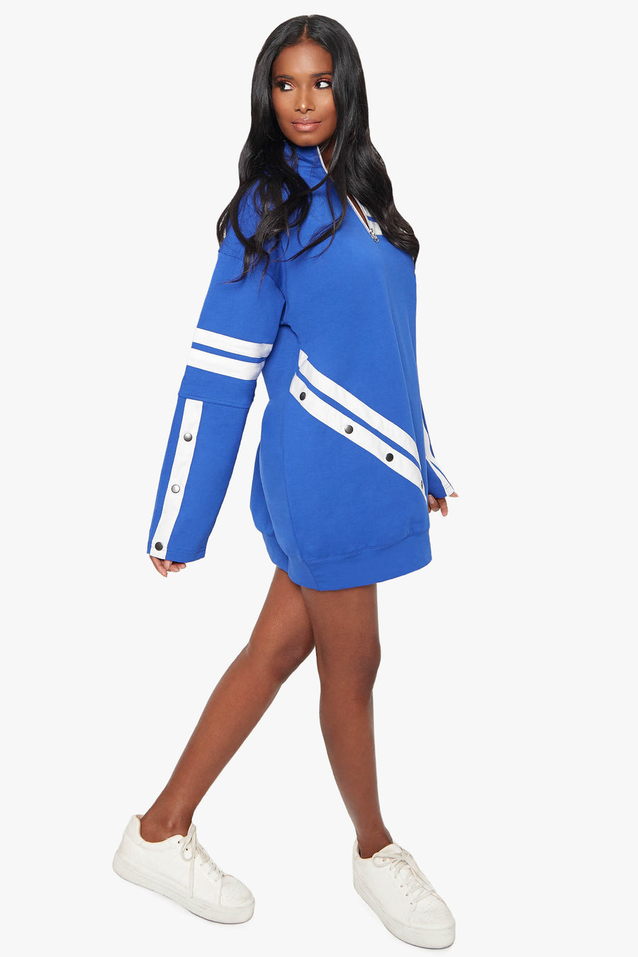 Maybe Later Sweatshirt Dress