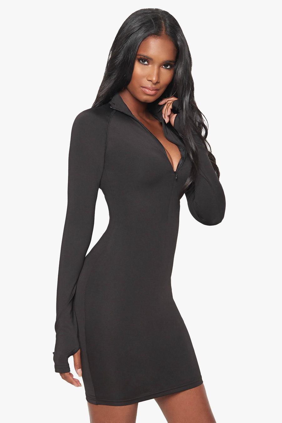 Hollywood and Highland Zip Up Dress