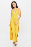 Go With The Flow Jumpsuit - HoneyBum