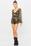 Gold Dust Playsuit - HoneyBum