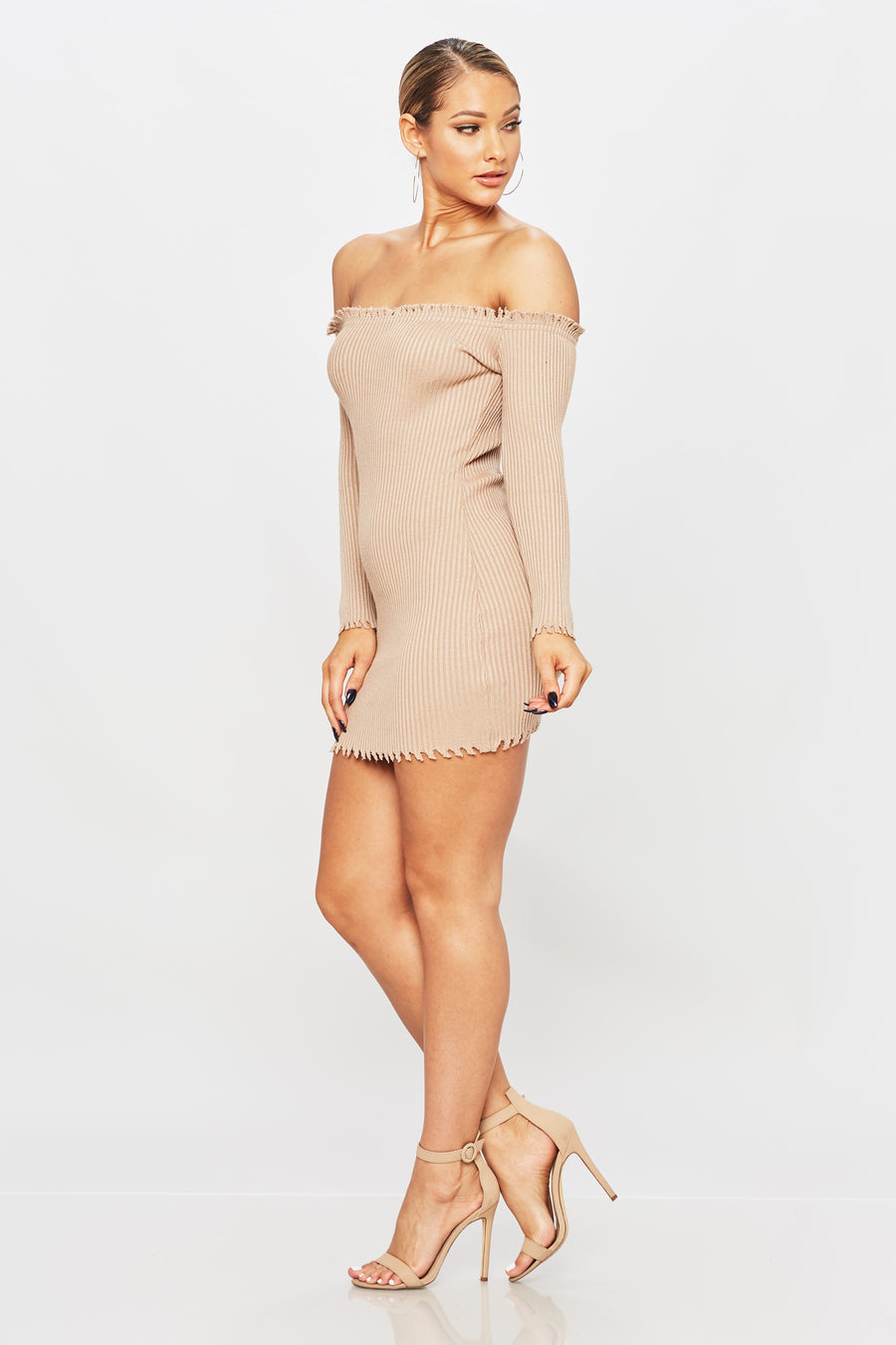Simple As This Dress - HoneyBum