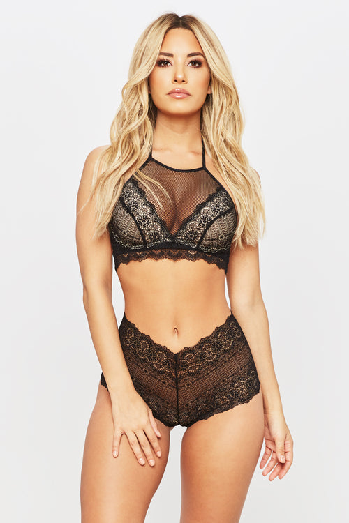 Hands Tied Lingerie Set - HoneyBum