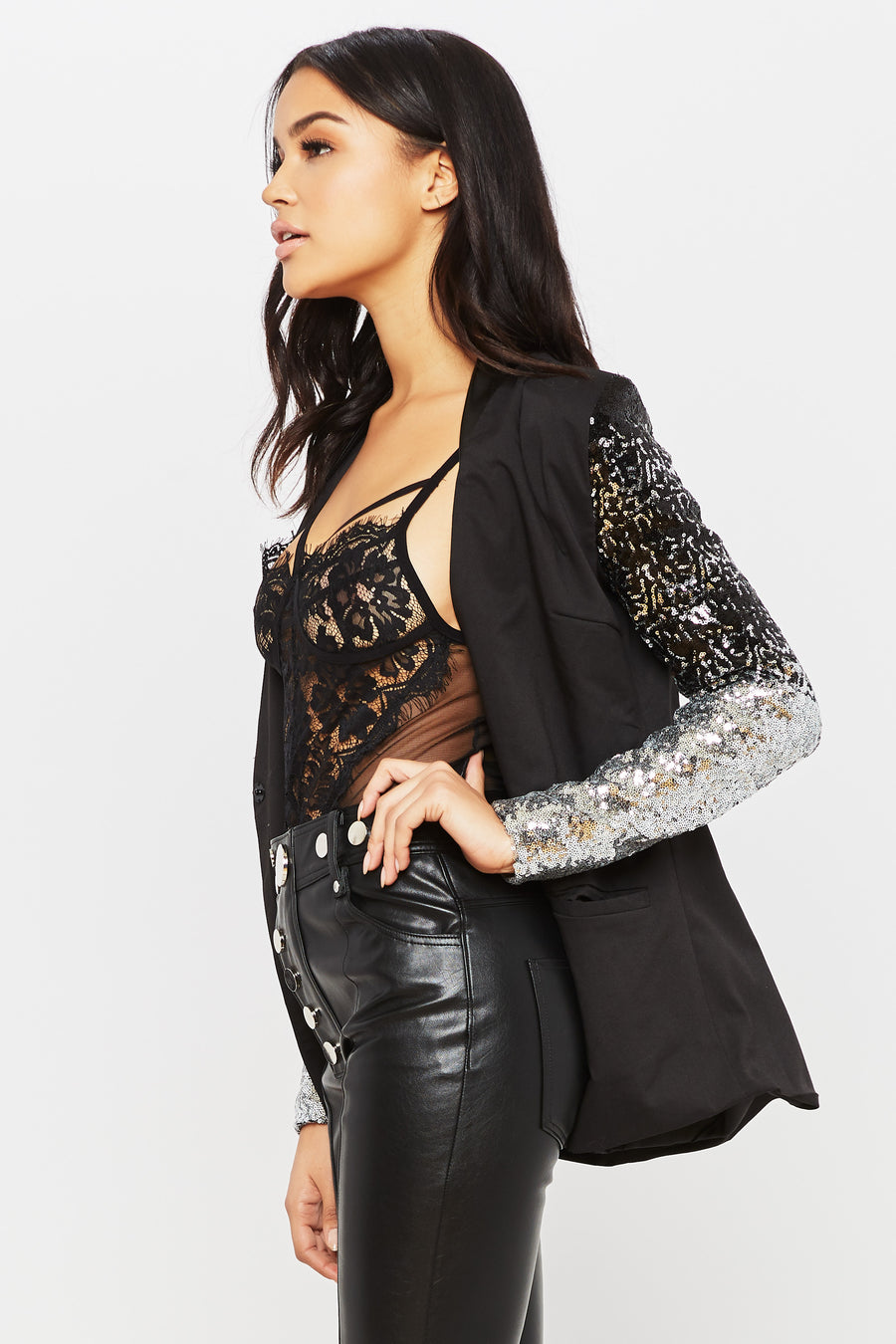 Night of Stars Blazer - HoneyBum