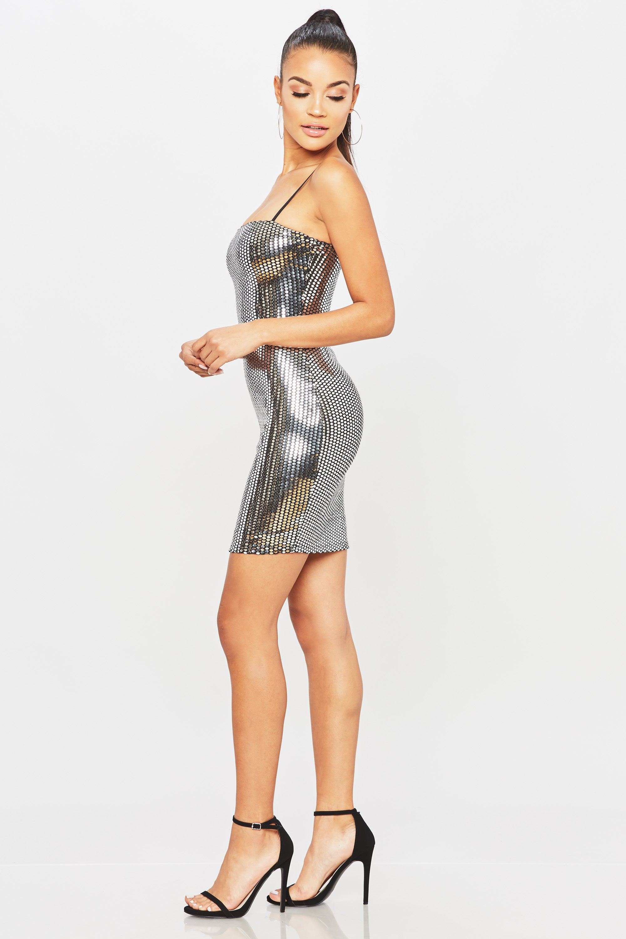 Disco Night Dress - HoneyBum