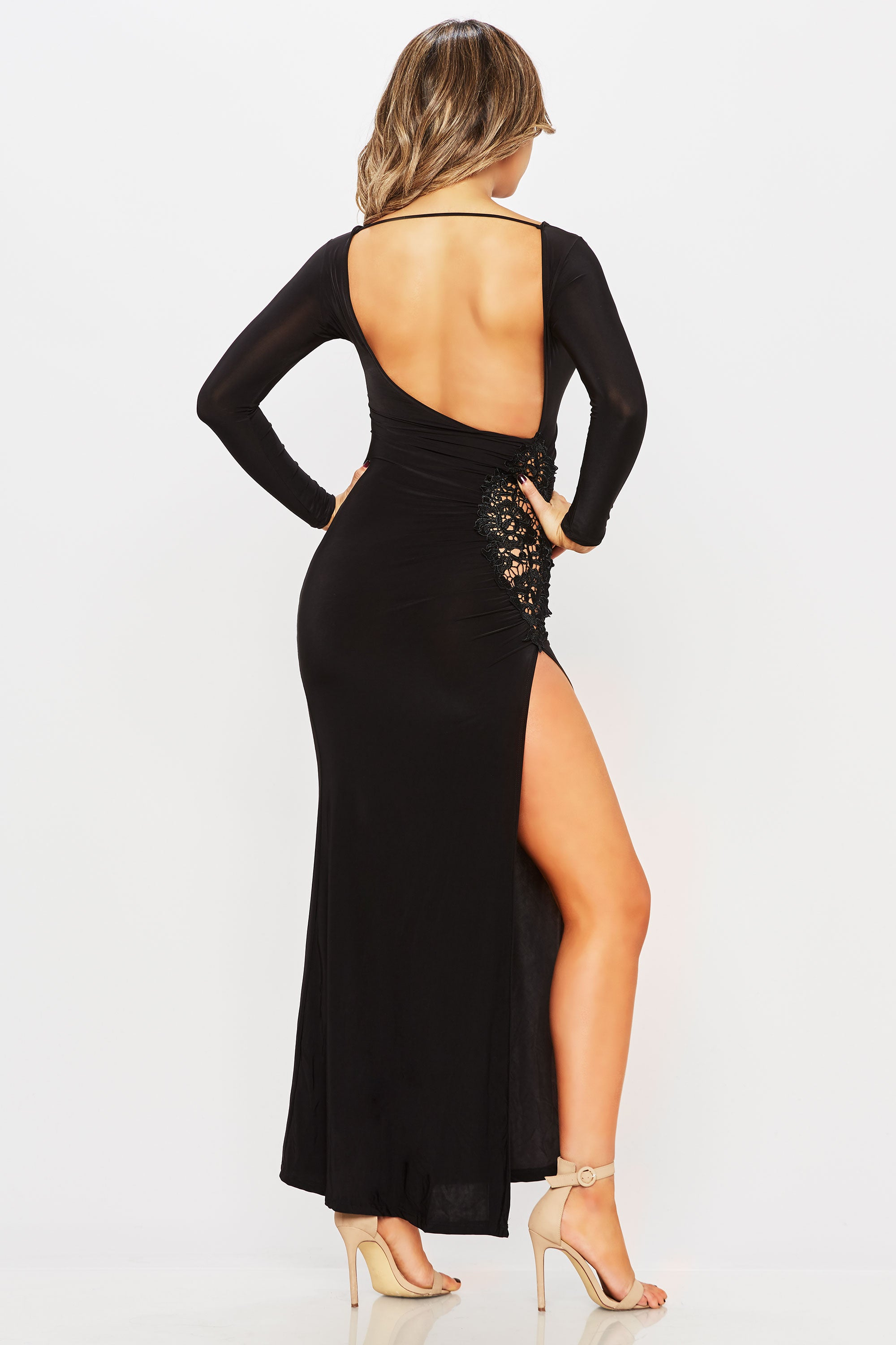 Caught Up In A Moment Dress - HoneyBum