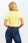 Fuzzy Feeling Crop Top - HoneyBum