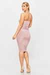 One Two Step Dress - HoneyBum