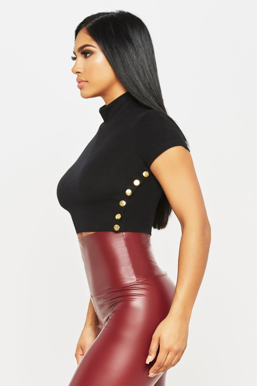 Valentina Crop Top - HoneyBum