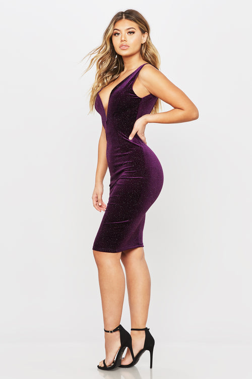 My Love Is Your Love Dress - HoneyBum