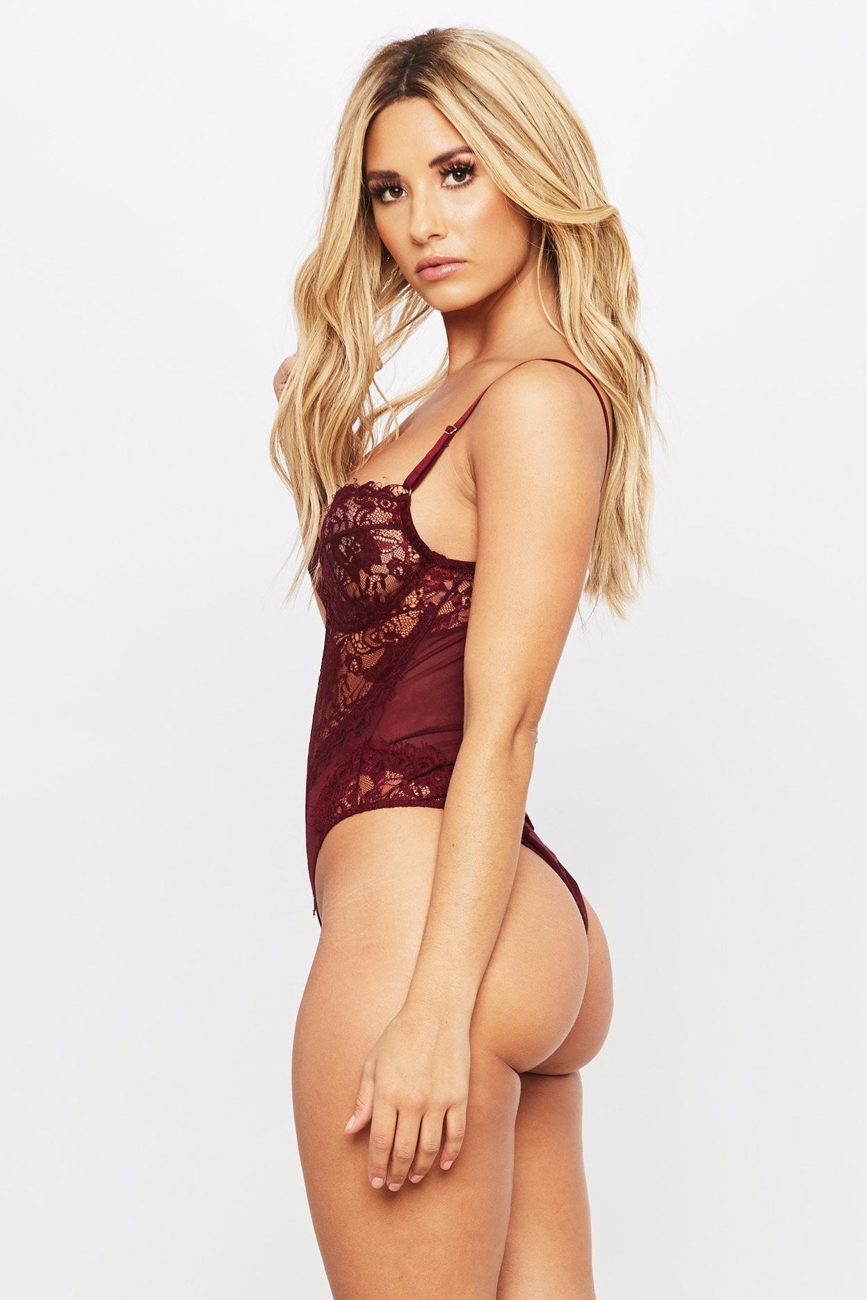 Strictly Lace Bodysuit - HoneyBum