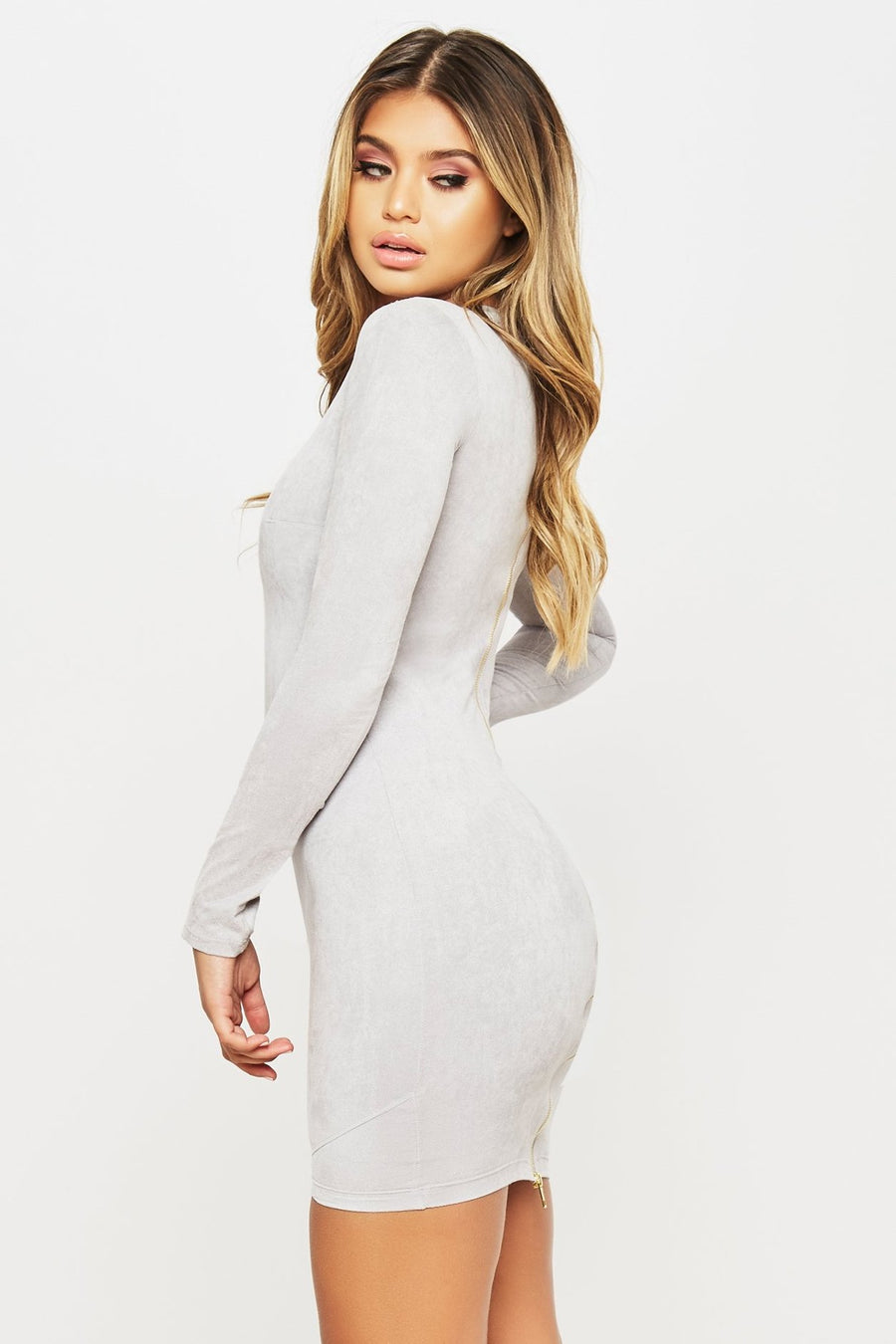 Up All Night Dress - HoneyBum