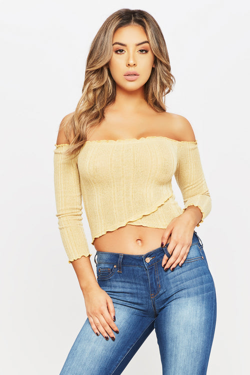Come Around Crop Top - HoneyBum