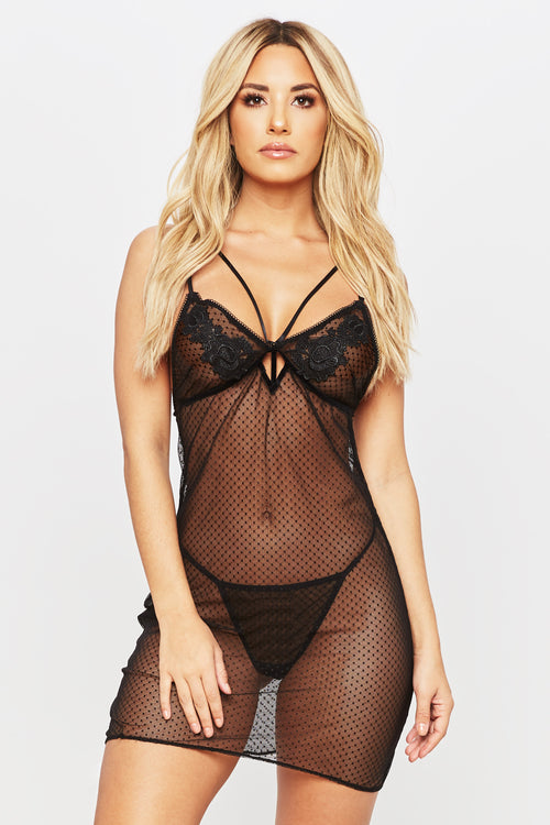 Oh Snap Lingerie Set - HoneyBum