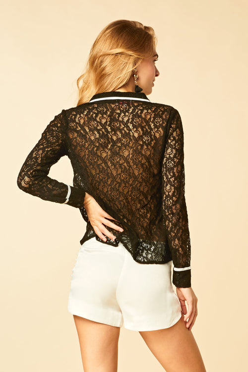 Lea Lace Top - HoneyBum