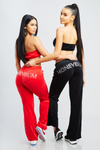 Honeybum Crystal Sweatpants