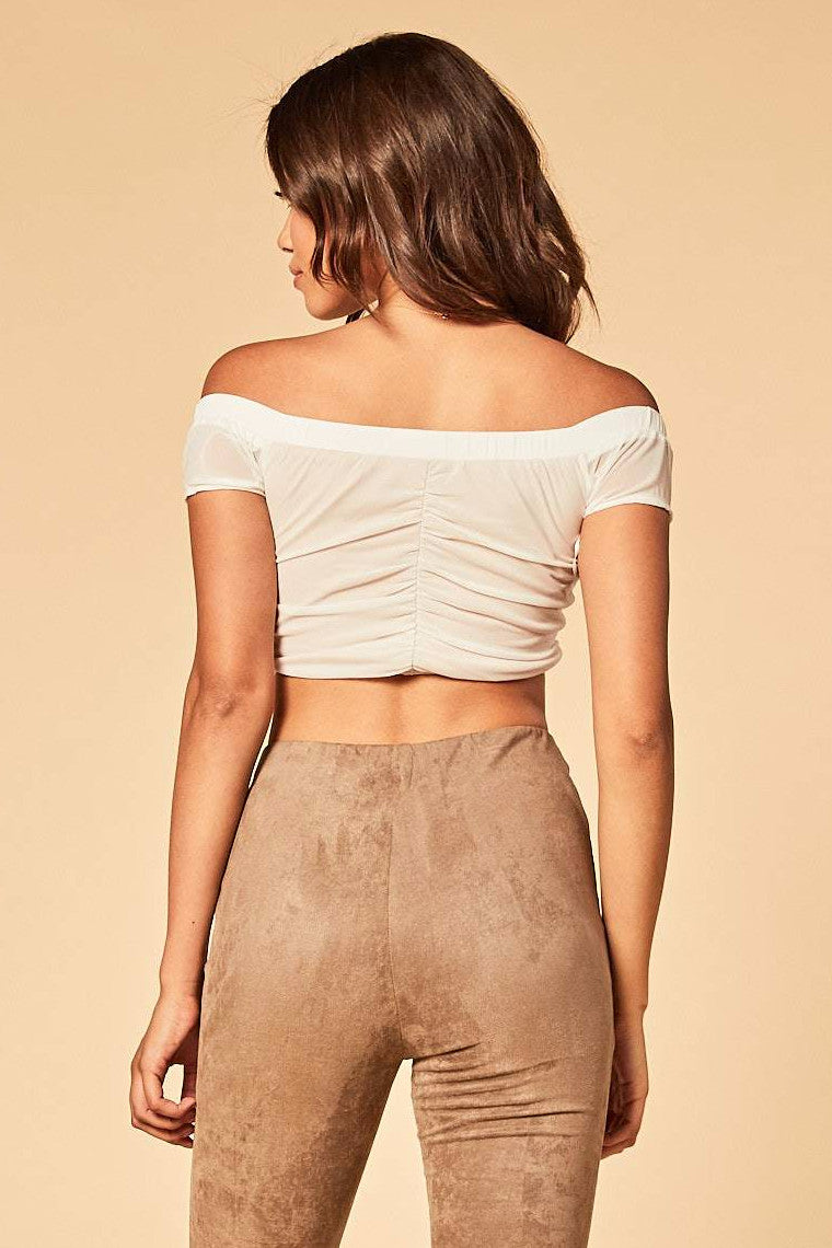 Makin' My Day Crop Top - HoneyBum