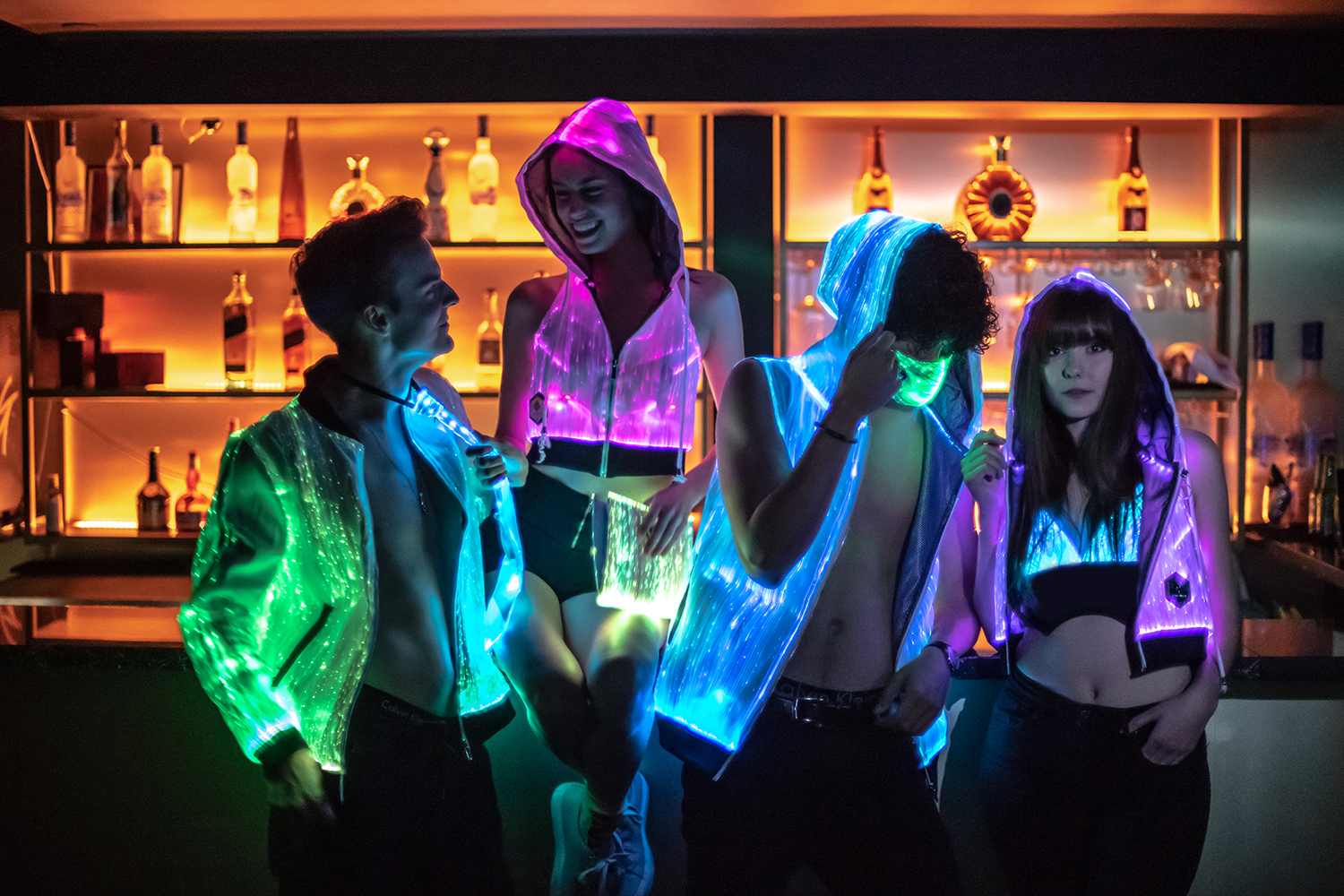 Become The Light Of The Party with Inlighten Fiber Optic Clothing