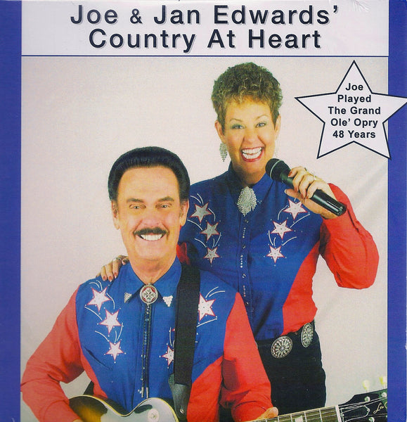 Joe & Jan Edwards, Country At Heart (Complete CD) Style# Joe222 Country Heart