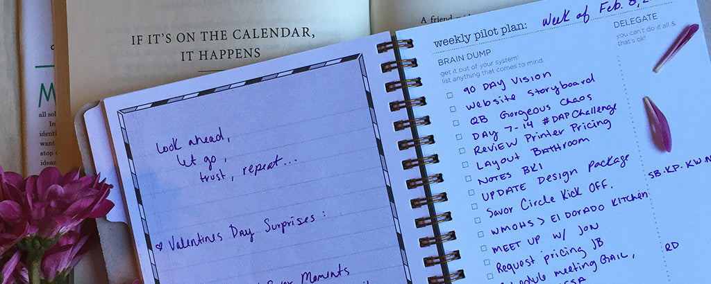 Confessions of a Daily Action Planner | Taking Back Time
