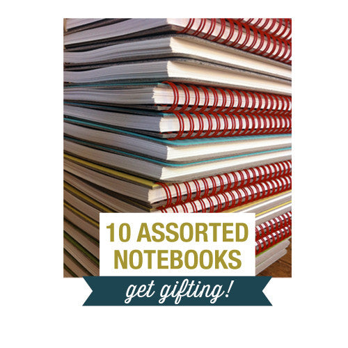 Gifts For Everyone ~ 10 Assorted Small Notebooks