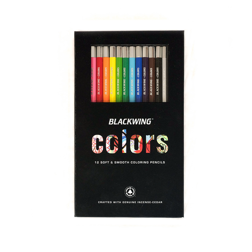 Blackwing Colors pencil set- pencils have a wax core which makes them smoother and last longer.