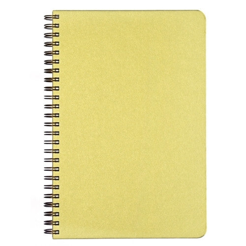 Blank Slate- Lime Green Notebook