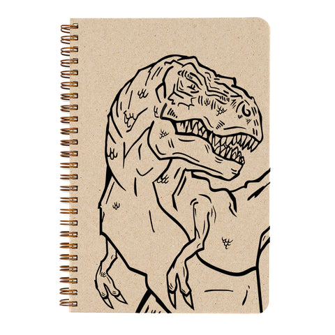 Color In- T-Rex