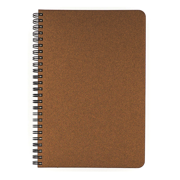 Blank Slate- Bronze Notebook