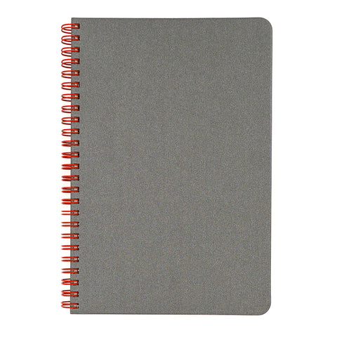 Blank Slate- Grey Notebook