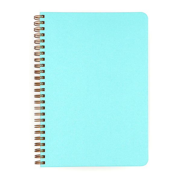 Blank Slate- Hot Blue Notebook