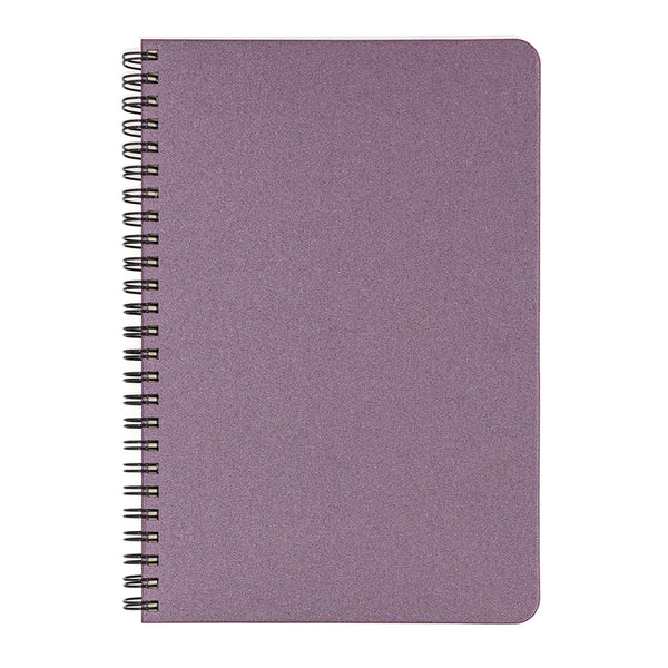 Blank Slate- Plum Notebook