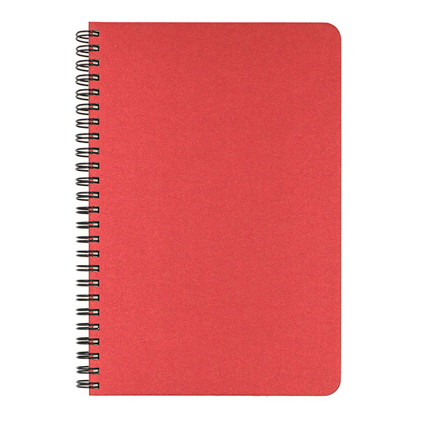 Blank Slate- Ruby Red Notebook