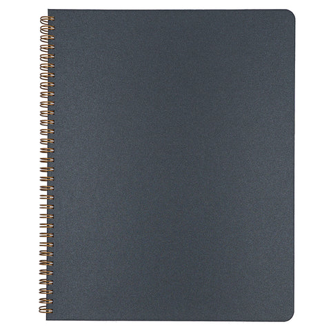 Blank Slate- Black Notebook in Large Size