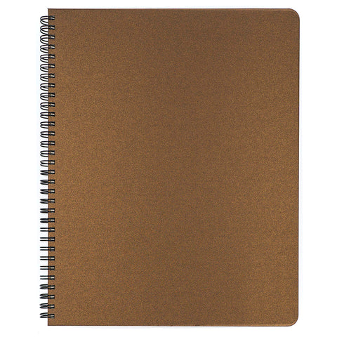 Blank Slate- Bronze Notebook in Large Size