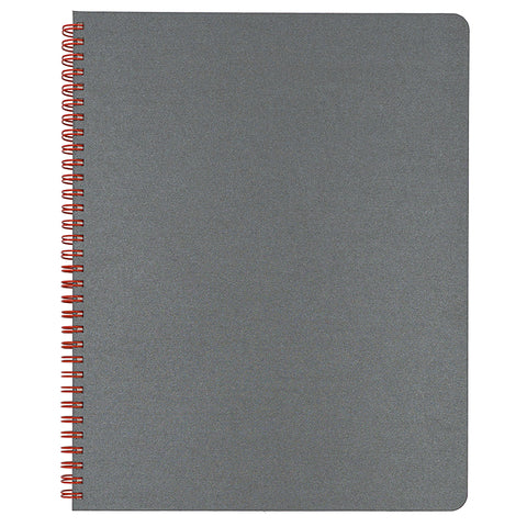 Blank Slate- Grey Notebook in Large Size