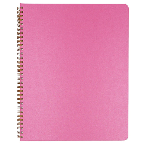 Blank Slate- Hot Pink Notebook in Large Size