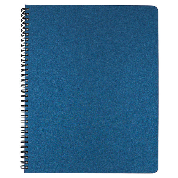 Blank Slate- Indigo Blue Notebook in Large Size