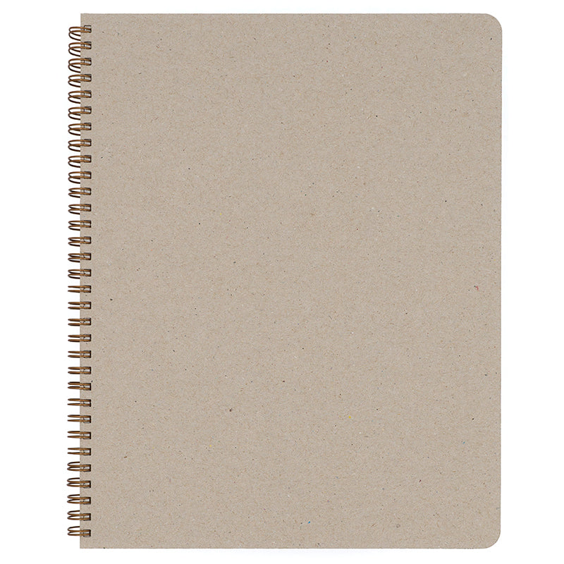 Blank Slate- Natural Notebook in Large Size